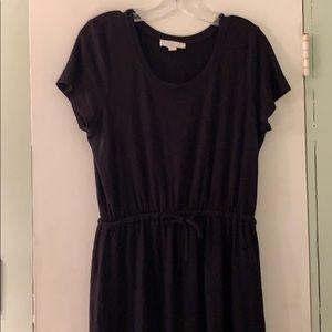 Olive & Oak Black T-shirt Dress